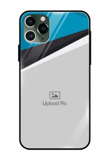 Apple iPhone 11 Pro Photo Printing on Glass Case  - Simple Pattern Photo Upload Design