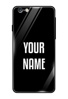 Iphone 6 Plus Your Name on Glass Phone Case