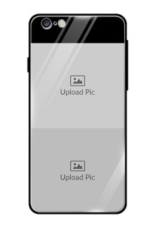 Iphone 6 Plus 2 Images on Glass Phone Cover