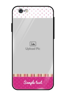 Apple iPhone 6 Photo Printing on Glass Case  - Cute Girls Cover Design