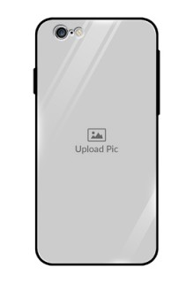 Apple iPhone 6 Photo Printing on Glass Case  - Upload Full Picture Design
