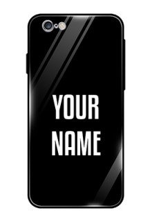 Iphone 6 Your Name on Glass Phone Case