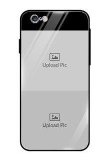 Iphone 6 2 Images on Glass Phone Cover