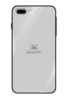 Apple iPhone 8 Plus Photo Printing on Glass Case  - Upload Full Picture Design