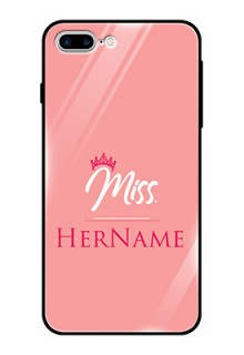 Iphone 8 Plus Custom Glass Phone Case Mrs with Name