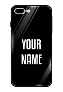 Iphone 8 Plus Your Name on Glass Phone Case