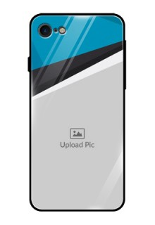 Apple iPhone 8 Photo Printing on Glass Case  - Simple Pattern Photo Upload Design