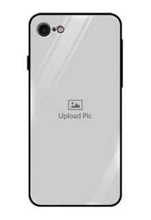 Apple iPhone 8 Photo Printing on Glass Case  - Upload Full Picture Design