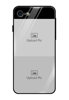 Iphone 8 2 Images on Glass Phone Cover