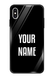 Iphone Xs Max Your Name on Glass Phone Case