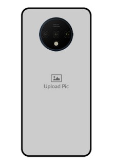 OnePlus 7T Photo Printing on Glass Case  - Upload Full Picture Design