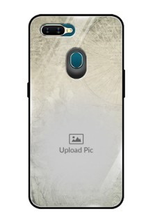 Oppo A7 Custom Glass Phone Case  - with vintage design