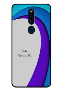 Oppo F11 Pro Photo Printing on Glass Case  - Simple Pattern Design