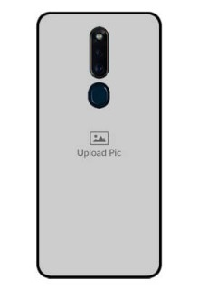 Oppo F11 Pro Photo Printing on Glass Case  - Upload Full Picture Design