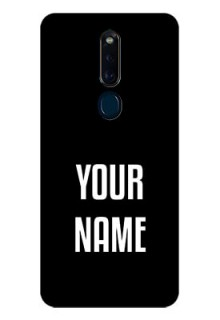 Oppo F11 Pro Your Name on Glass Phone Case