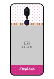 Oppo F11 Photo Printing on Glass Case  - Cute Girls Cover Design