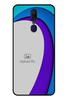 Oppo F11 Photo Printing on Glass Case  - Simple Pattern Design
