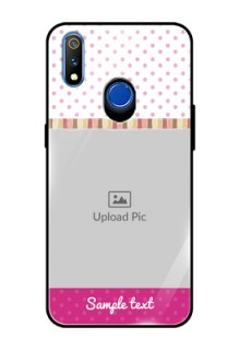 Realme 3 Pro Photo Printing on Glass Case  - Cute Girls Cover Design