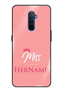 Realme X2 Pro Custom Glass Phone Case Mrs with Name