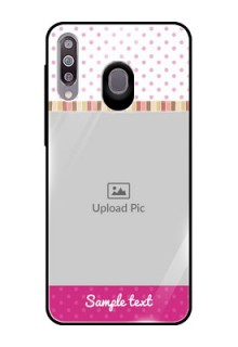 Samsung Galaxy M30 Photo Printing on Glass Case  - Cute Girls Cover Design