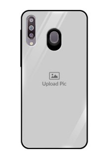 Samsung Galaxy M30 Photo Printing on Glass Case  - Upload Full Picture Design