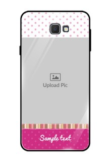 Samsung Galaxy On Prime Photo Printing on Glass Case  - Cute Girls Cover Design