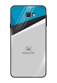Samsung Galaxy On Prime Photo Printing on Glass Case  - Simple Pattern Photo Upload Design