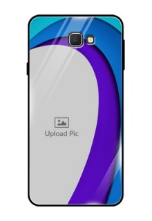 Samsung Galaxy On Prime Photo Printing on Glass Case  - Simple Pattern Design