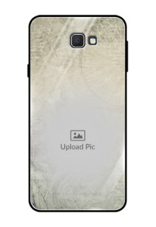 Samsung Galaxy On Prime Custom Glass Phone Case  - with vintage design