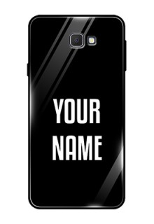 Galaxy On7 Prime Your Name on Glass Phone Case