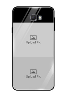 Galaxy On7 Prime 2 Images on Glass Phone Cover