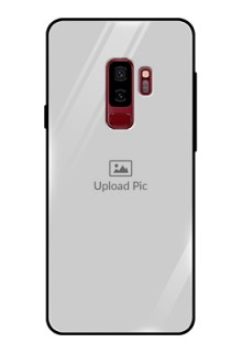 Samsung Galaxy S9 Plus Photo Printing on Glass Case  - Upload Full Picture Design