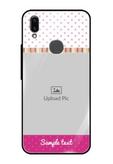 Vivo V9 Youth Photo Printing on Glass Case  - Cute Girls Cover Design