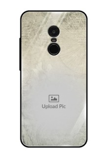 Redmi Note 4 Custom Glass Phone Case  - with vintage design