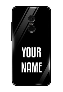 Redmi Note 4 Your Name on Glass Phone Case