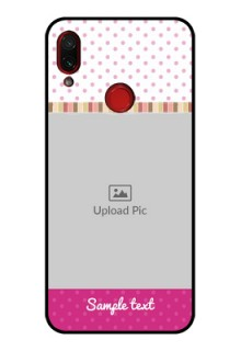 Redmi Note 7 Photo Printing on Glass Case  - Cute Girls Cover Design