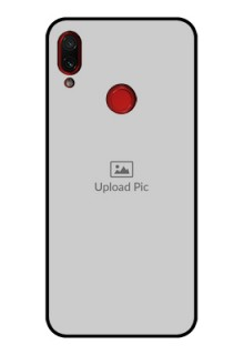 Redmi Note 7 Photo Printing on Glass Case  - Upload Full Picture Design