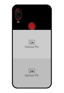Redmi Note 7 2 Images on Glass Phone Cover