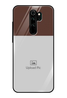 Redmi Note 8 Pro Custom Glass Mobile Case  - Elegant Case Design