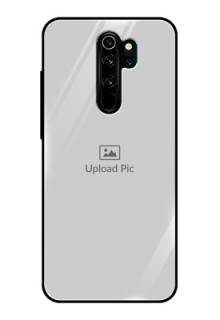 Redmi Note 8 Pro Photo Printing on Glass Case  - Upload Full Picture Design