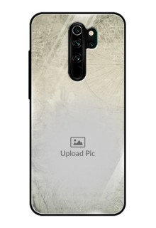 Redmi Note 8 Pro Custom Glass Phone Case  - with vintage design