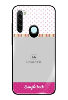 Redmi Note 8 Photo Printing on Glass Case  - Cute Girls Cover Design