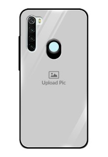 Redmi Note 8 Photo Printing on Glass Case  - Upload Full Picture Design