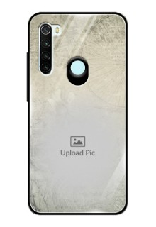 Redmi Note 8 Custom Glass Phone Case  - with vintage design