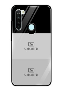 Redmi Note 8 2 Images on Glass Phone Cover