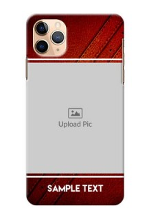 Iphone 11 Pro Max Back Covers: Leather Phone Case Design