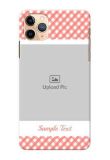 Iphone 11 Pro Max custom mobile cases: Pink Pattern Design