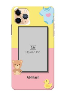 Iphone 11 Pro Max Back Covers: Kids 2 Color Design