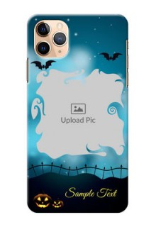 Iphone 11 Pro Max Personalised Phone Cases: Halloween frame design