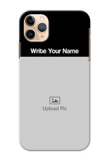 Iphone 11 Pro Max Photo with Name on Phone Case